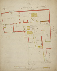 [Plan of property on Basinghall Street] 115M